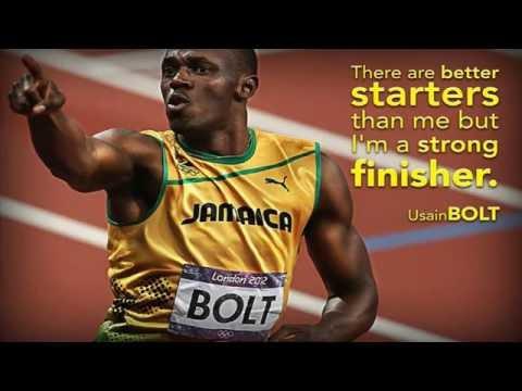 Usain Bolt Is a Famous Athleta New World Record  Rio Brazil