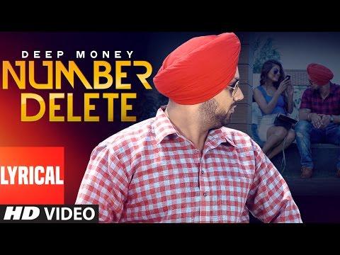 Deep Money:  Number Delete Full Lyrical Song | New Punjabi Song | T-Series Apnapunjab