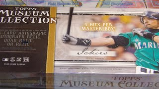 TOPPS 2020 Museum Collection Unboxing! Incredible Box!!!