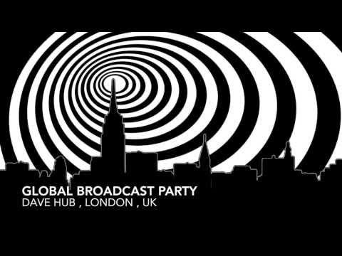 "Techno Mix , FEB , 2014, GLOBAL BROADCAST PARTY ,  "" I FEEL LOVE "" , Dave HuB"