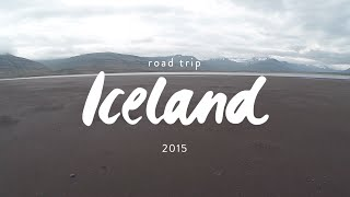 Iceland Road Trip 2015   Ring road   Diving Silfra   Drone footage