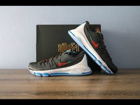 Nike KD8 BHM Unboxing