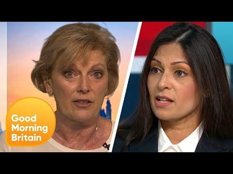 anna-soubry-and-priti-patel-react-to-boris-johnson-becoming-prime-minister- -good-morning-britain
