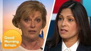 Anna Soubry and Priti Patel React to Boris Johnson Becoming Prime Minister | Good Morning Britain