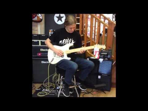 The Fender American Standard Stratocaster Guitar