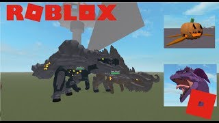 Roblox Monstonia - Dev Dinos! + New Skins and Dragons!