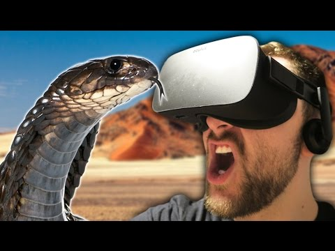 SNAAAAAAAAKKKKKEEE! | Don't Let Go: Desert (Oculus Rift)