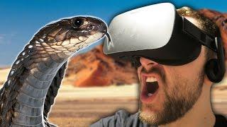 Repeat youtube video SNAAAAAAAAKKKKKEEE! | Don't Let Go: Desert (Oculus Rift)