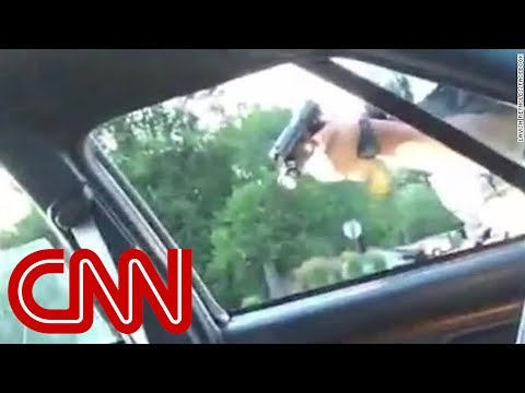 Woman streams graphic video of boyfriend shot by police