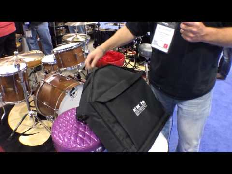 2014 Winter NAMM PorkPie Percussion Throne Bag