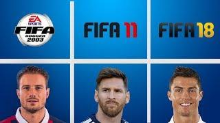 ЛУЧШИЕ ФУТБОЛИСТЫ В ИСТОРИИ FIFA (FIFA 96 - FIFA 18)