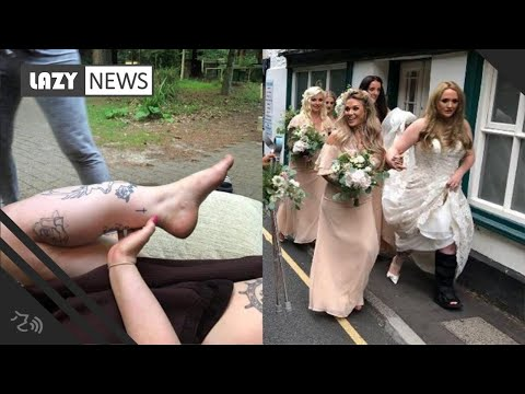 Heath West - Quick Thinking Bridesmaid Saves Bride-To-Be From Leg Amputation