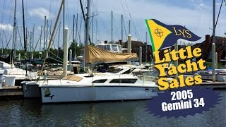 Gemini 105MC 34' Catamaran Sailboat for sale at Little Yacht Sales, Kemah Texas