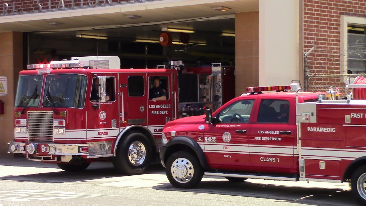LAFD Engine 9 by FB1 Response Videos