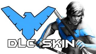 Batman Arkham City - ALL Nightwing DLC Costumes and Review (Gameplay / Commentary)