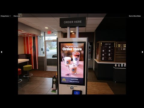 I Use The BRAND NEW Ordering Kiosk At My Local McDonald's