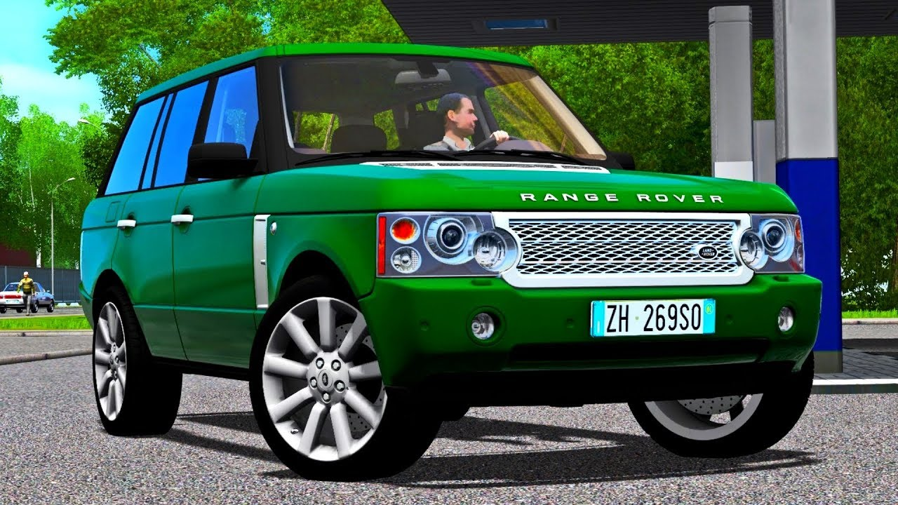 06fca048ade City Car Driving 1.5.4 Range Rover Vogue Supercharged 2008 - G27 HD  [1080p][60fps]