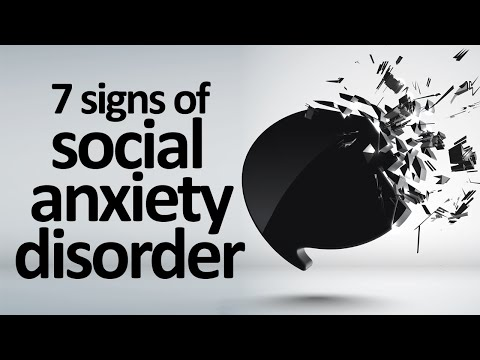 7 Signs And Symptoms Of Social Anxiety Disorder