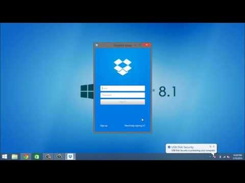 Windows 8.1 How To Install Dropbox