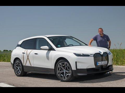 Neuer BMW iX 2022 - FAHREN, Sound & PREIS (xDrive50)