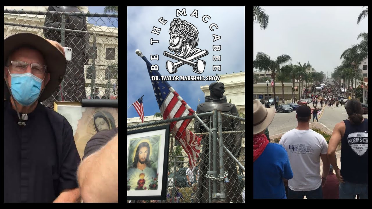 Faithful Catholics Defend Holy Mother Church and Our Heritage in San Buenaventura