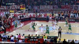 Ολυμπιακός - Παναθηναϊκός 51-66 Highlights - Basket League 5ος τελικός (2-3) {11/6/2017}