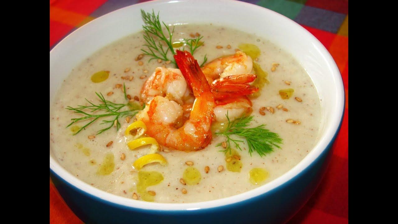 Рецепты супа с креветками