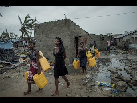 After devastating cyclone, Mozambique fears hunger, disease