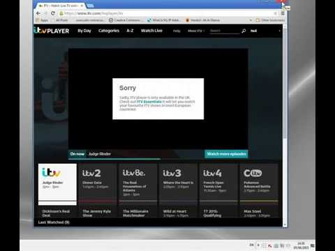 ITV Player USA - or Anywhere Abroad