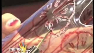 วิธีประดิษฐ์กระถางดอกชบาจากขวดน้ำอัดลม