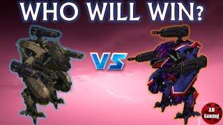 War Robots - Pursuer (Halo) - VS Pursuer (Shredder) 2019