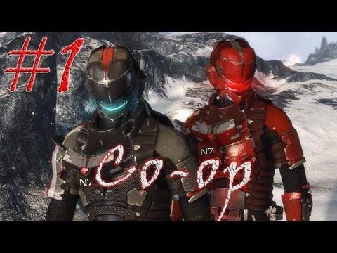Смотреть прохождение игры [Coop] Dead Space 3. Серия 1 - Лунная колония.