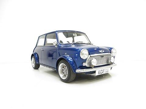 A Striking Austin Morris Mini 850 Super Known as Mini 'Electric Blue'. SOLD!