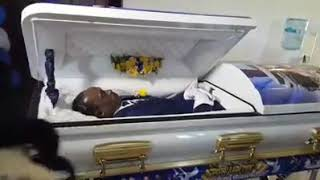 Jones Funeral Home latest invention: remote operated casket