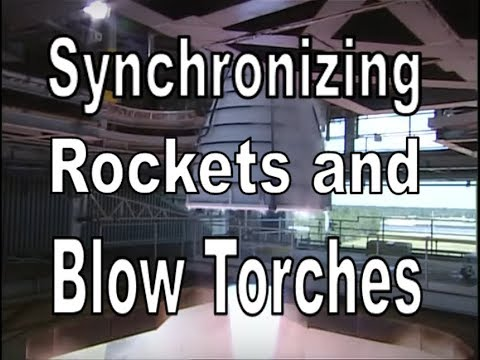 Synchronizing Rockets and Blow Torches