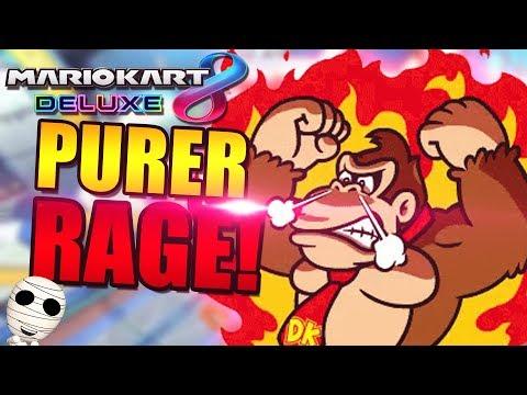 Purer Rage!!! - Mario Kart 8 Deluxe mit der Gang - Tombie deutsch