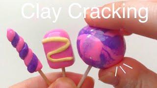 EASY Clay Cracking Tutorial DIY ASMR