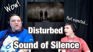 WOW! Sound of Silence - Disturbed Father and Son Reaction!