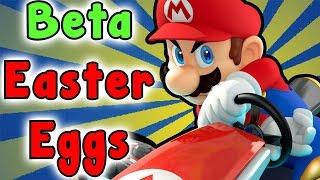 Mario Kart 8 - Beta SECRETS And EASTER EGGS