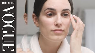 Get ready with British Vogue's Beauty & Lifestyle Director Jessica Diner | British Vogue & Shiseido