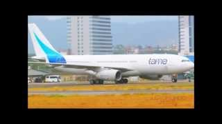 AIRBUS A-330-200  DE TAME AIRLINES.