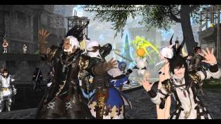 FFXIV: ARR- PARTY TIME GUYS