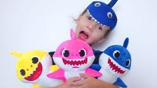 Shark Finger Family | Finger Puppets Baby | Shark song for children by Ulya