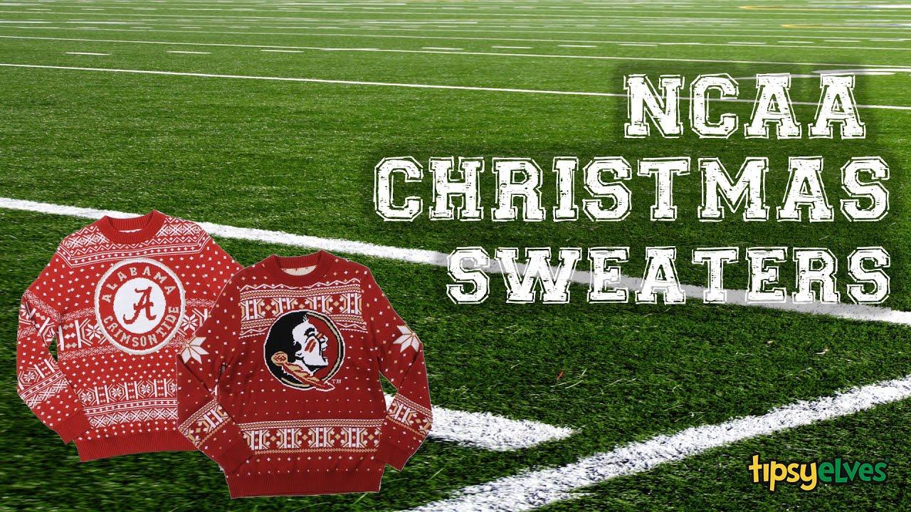 NCAA Christmas Sweaters