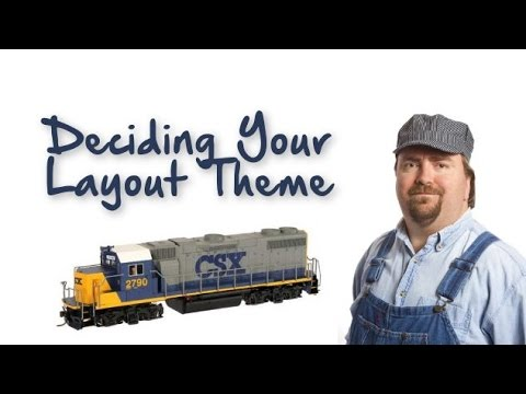 Model Trains Book | Deciding Model Railroad Themes – Free Ebook Available