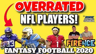 NFL Fantasy Football Overrated Players 2020