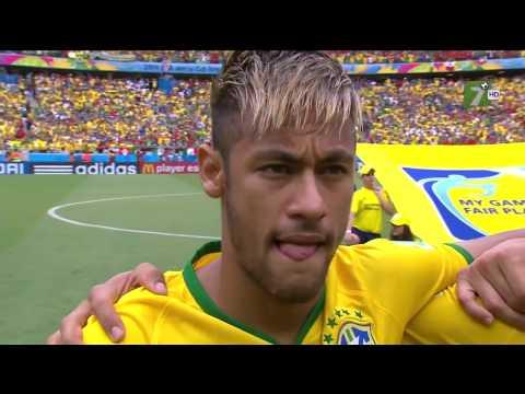 México vs Brasil - Copa del Mundo 2014 (primer tiempo completo) TV  Azteca HD