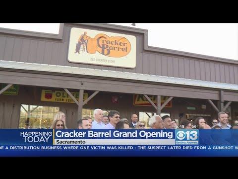 Sacramento Cracker Barrel Is, Finally, Opening Its Doors