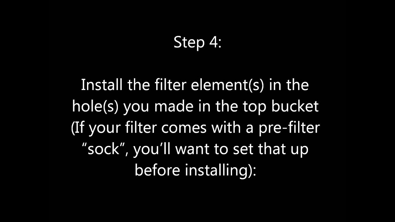 how to make a water purification system