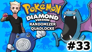 GOLBAT CITY | Pokémon Diamond Randomizer Quadlocke Part 33